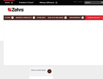 zehrs.ca screenshot