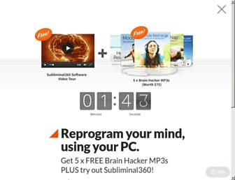 subliminal360.com screenshot