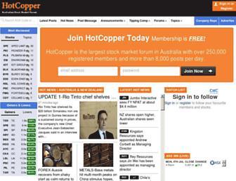 hotcopper.com.au screenshot