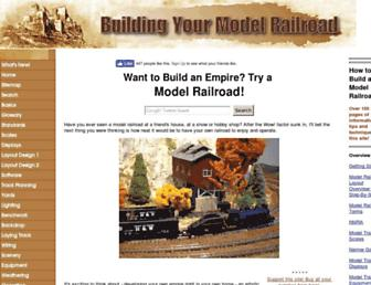 building-your-model-railroad.com screenshot