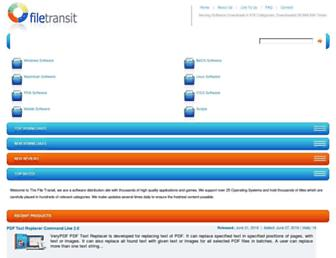 filetransit.com screenshot