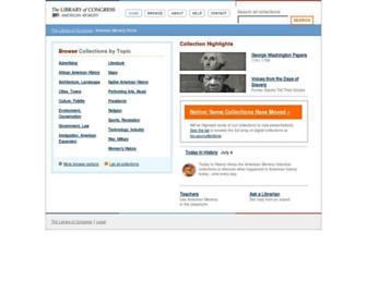 lcweb2.loc.gov screenshot