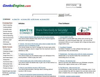 geeksengine.com screenshot