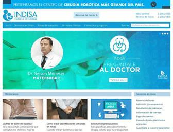 indisa.cl screenshot
