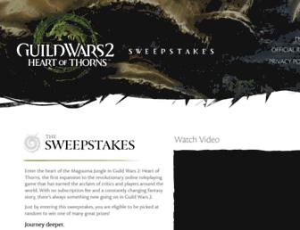 Thumbshot of Guildwars2sweepstakes.com