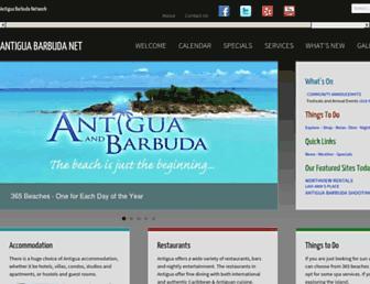 antiguabarbuda.net screenshot