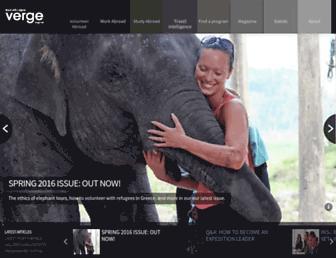 vergemagazine.com screenshot