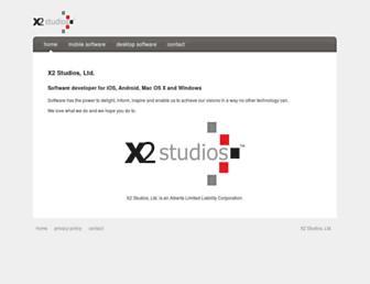 x2studios.com screenshot