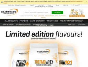 Thumbshot of Bulknutrients.com.au