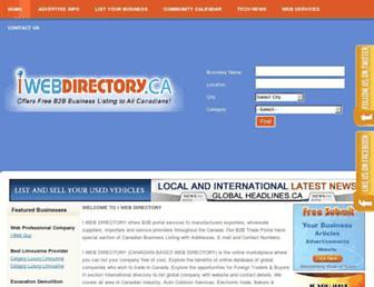 Thumbshot of Iwebdirectory.ca