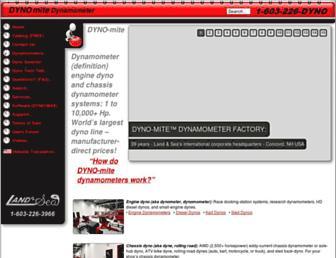 dynomitedynamometer.com screenshot
