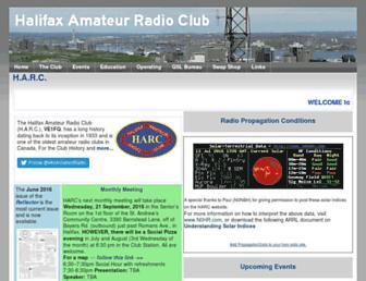 halifax-arc.org screenshot