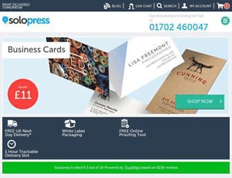 Thumbshot of Solopress.com