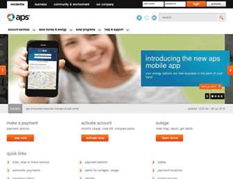 aps.com screenshot