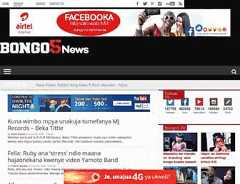 bongo5.com screenshot