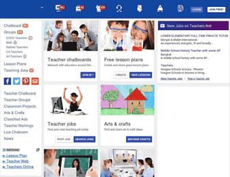 teachers.net screenshot