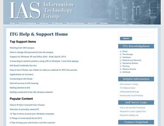 itg.ias.edu screenshot