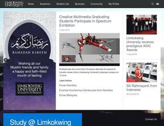 limkokwing.net screenshot