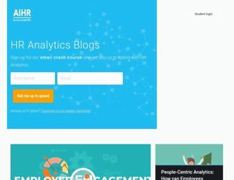 analyticsinhr.com screenshot