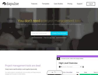 Thumbshot of Dapulse.com