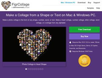 figrcollage.com screenshot