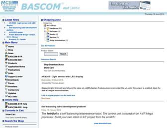mcselec.com screenshot