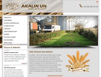 akalinun.com screenshot