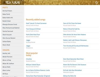 folkpunjab.com screenshot