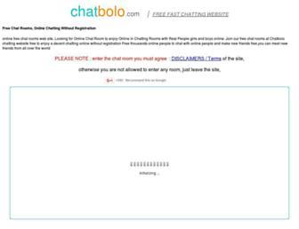 chatbolo.com screenshot