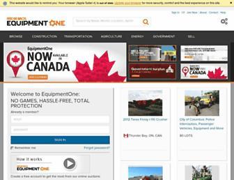 equipmentone.com screenshot