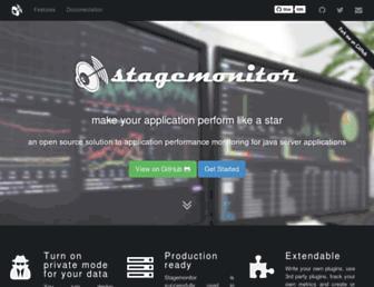 stagemonitor.org screenshot