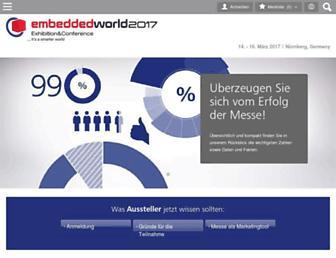 embedded-world.de screenshot