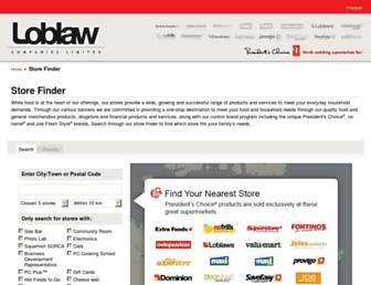 loblawstores.ca screenshot
