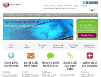 textanywhere.net screenshot