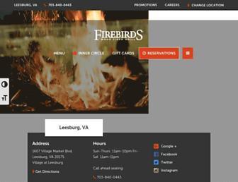 Thumbshot of Firebirdsrestaurants.com