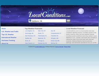 Thumbshot of Localconditions.com