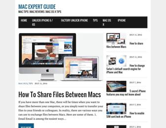 macexpertguide.com screenshot