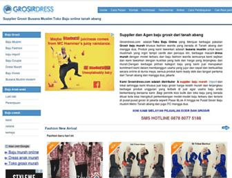 grosirdress.com screenshot