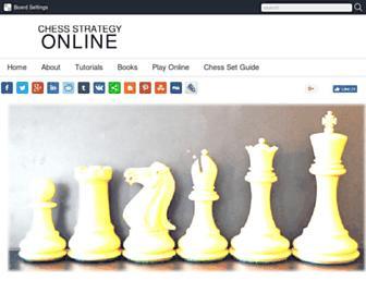 chessstrategyonline.com screenshot