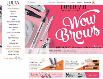 Thumbshot of Ulta.com