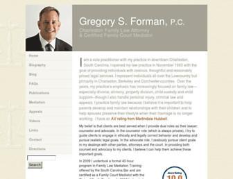 gregoryforman.com screenshot