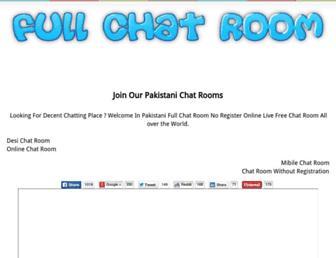 fullchatroom.com screenshot
