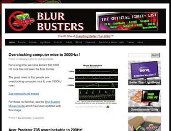 Thumbshot of Blurbusters.com