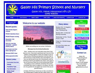 galleyhill.herts.sch.uk screenshot
