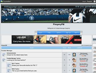 fmreport.forumotion.com screenshot
