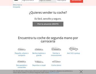 autocasion.com screenshot