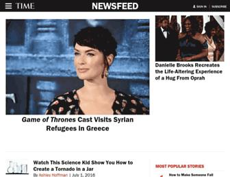 newsfeed.time.com screenshot