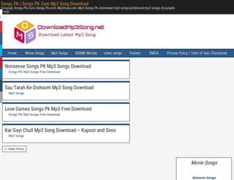 downloadmp3song.info screenshot