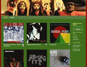 madamerroseselavy.bandcamp.com screenshot