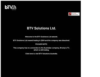 btvsolutions.com screenshot